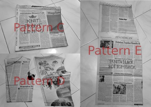 Pattern C&D&E